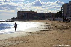 Playa de Los Locos is beach in Torrevieja, Alicante, Spain. Map and Photos for Playa de Los Locos and other beaches in the area are available. Torrevieja, Beaches, Scenery, Spain, Louvre, Building, Water, Travel, Outdoor