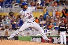 New York Mets relief pitcher Jenrry Mejia (pictured in was issued a lifetime ban from the MLB after testing positive for Boldenone. He is the first player to ever receive this ban under baseball's drug program An Invisible Thread, Anabolic Steroid, Baseball Games, New York Mets, Mlb, Drugs, Sports, Life, Hs Sports
