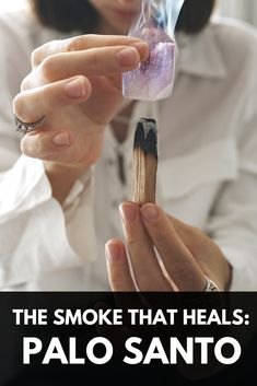 Both magical and practical, Palo Santo has powerful benefits to purify your energy field, deflect energetic intrusions and heal your physical body. #palosanto #energyclearing #smudging #mediumship #psychic #intuitive