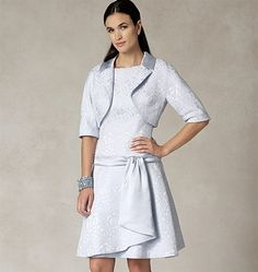 Patron de veste et robe - Vogue 1485