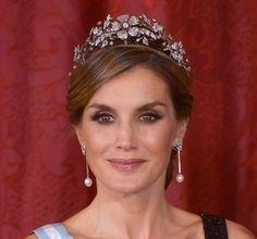 Queen Letizia Mellerio Floral Tiara