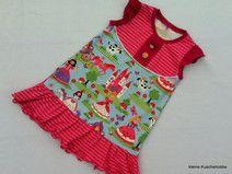 Ärmellosen Kleid, Trägerkleid, Tunika, Wunschgröße