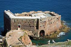 Forte de São João Baptista - Ilha da Berlenga Berlengas-ENJOY PORTUGAL www.enjoyportugal.eu