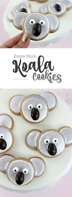 Koala Cookies! Just in time to celebrate the upcoming release of SING, in theaters on 12/21. #SingMovie #ad
