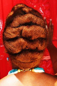 Loving this hair style!