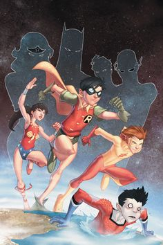 TEEN TITANS YEAR ONE                              Love these comics!