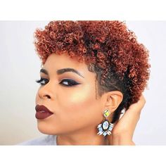 Many are inspired by how I wear my natural hair in various tapered cuts and curled styles. I love creating different shaved cuts, color patterns and twist out techniques. Natural Hair Twist Out, Natural Hair Styles, Natural Tapered Cut, Different Hair Cut, Twist Out Styles, Shaving Cut, Flat Twist Hairstyles, Black Girl Makeup, Black Hair Care
