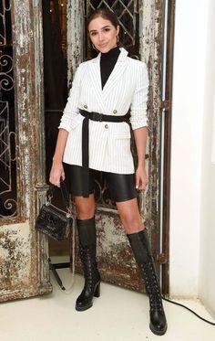 184e7567810 Christie Brinkley s Fun Fringe Mini Dress — Plus More Can t-Miss Celeb  Looks. Olivia CulpoStuart WeitzmanDemi ...