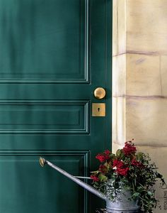 Peinture, spéciale bois, coloris Vert Pays Basque, Tollens.