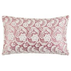 Buy Tesco Lace Cushion Mauve from our Cushions range - Tesco.com