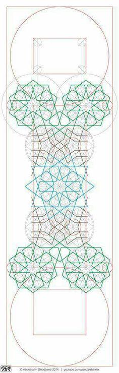 Geometry Art, Sacred Geometry, Motifs Islamiques, Geometric Pattern Design, Arabesque, Wood Carving, Zentangle, Mandala, Islamic Designs