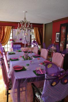 Fairy birthday party for Scarlett's 4th