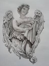 Resultado de imagen para angel tattoo