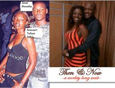 Photos of 2Face and Annie Idibia that prove they were always destined to be together..