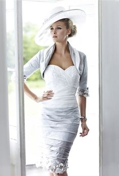 "Ian Stuart ISL375 Ruched Dress in Multi Grey Tones Ian Stuart Grey Multi Coloured Gray Three piece Outfit. This astounding "" and Groom Wedding Outfit has a strip effect knee length Taffeta skirt complimented by a Rosette trim to hem line. The Outfit is further enhanced by a contrasting fitted Bodice. The matching Bolero Jacket … Continue reading Ian Stuart ISL375 Ruched Dress in Multi Grey Tones"
