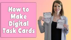 The easiest way to make digital task cards from your PDF task cards! #vestals21stcenturyclassroom #taskcards #digitaltaskcards #howtomakedigitaltaskcards #howtocreatedigitaltaskcards #googleforms