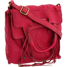 Lucky Brand - Laced Fringe Abbey Road Crossbody - I have this and LOVE it!!!