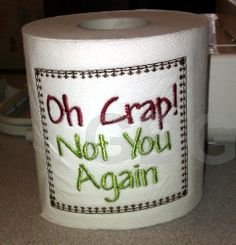 Latest Trend in Paper Embroidery - Craft & Patterns Christmas Toilet Paper, Toilet Paper Crafts, Paper Embroidery, Learn Embroidery, Machine Embroidery Designs, Embroidery Patterns, Embroidered Toilet Paper, Simply Stamps, Embroidery Techniques
