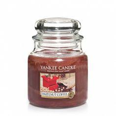 Yankee Candle:  Hazelnut Coffee ... Mmm.