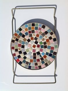 Mid Century Modern Trivet by MaggiesShopTherapy on Etsy, $17.99