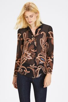 LARGE SCALE PAISLEY SHIRT