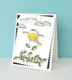 Happy Birds CL-WP9HB WPlus9 Design Stamps