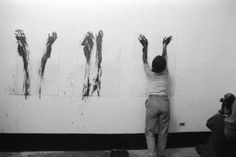 Tania Bruguera, Title: Tribute to Ana Mendieta  Conception year: 1985  Implementation years: 1986-1996  Medium: Re-creation of works  Duration: Long-Term project  Materials: Ana Mendieta's artworks and unrealized projects, lectures, exhibitions, interviews, texts
