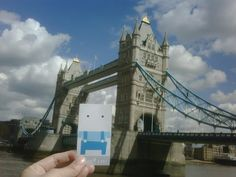 Bridge and the sugary clouds.  Tower Bridge / London, UK