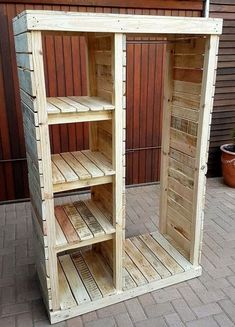35 easy to build wooden pallet crafts: DIY – Healthy lifestyle #diy #palletprojects #diyhome