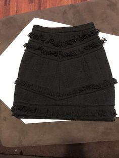 Kookai Mini Fringe Skirt  fashion  clothing  shoes  accessories   womensclothing  skirts 252c88961