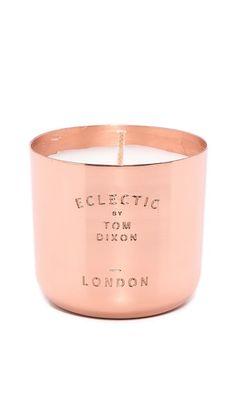 Tom Dixon London Scented Candle - Copper via myLusciousLife.com
