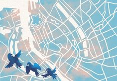 Orie's mountain art. Cinque Terre houses in Copenhagen #地図イラスト #デンマーク #Denmark #コペンハーゲン # おしゃれなイラスト Copenhagen, Painting, Painting Art, Paintings, Painted Canvas, Drawings