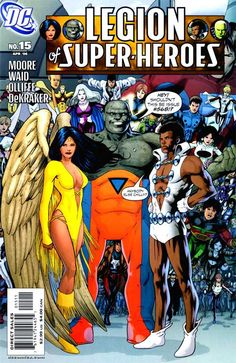 Legion of Super-Heroes    Cover for Legion of Super-Heroes #15 (2006)