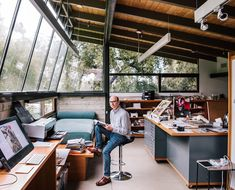 Home Studio, Studio Art, Studio Spaces, Art Studio Design, Garage Studio, Studio Room, Dream Studio, Studio Ideas, Interior Design Studio