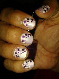 Purple#nailswag #nailsart #nails #colors #polish #beauty #nail
