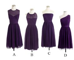 short bridesmaid dress, purple bridesmaid dress, cheap bridesmaid dress, mismatched bridesmaid dress, BD14321 sold by fitdesigndress. Shop more products from fitdesigndress on Storenvy, the home of independent small businesses all over the world.