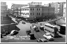 Junction of Darlinghurst and Bayswater Roads,Kings Cross in the eastern suburbs of Sydney (year unknown).