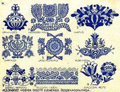 czech batik eggs  | WIDE BAND PATTERNS: 200 Year Old English Regency Era Patterns-PDF file