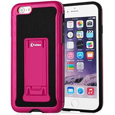 iPhone 6 6S Case,Vakoo® [Armor Grip] [KickStand] Slim Hybrid Protective Hard Shell Stand Cover TPU Bumper Cases for iPhone 6/6S (4.7 INCH) - Purple red/Black Vakoo http://www.amazon.com/dp/B00XMX92EC/ref=cm_sw_r_pi_dp_Wq4Bwb1MTX72M