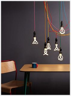 Somebody has managed to make CFL lamps look fashionable, anything is achievable.
