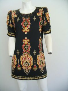 Colorful, slinky beaded sheath dress  $32.75