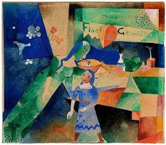 Heinrich Campendonk - Das Schaufenster, 1919
