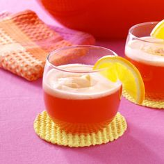 Orange Sherbet Party Punch ~ This punch is always a big hit with everyone. It's especially good for weddings and special parties where you have guests of all ages.