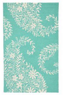 turquoise PB Teen Rug Design