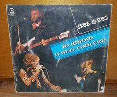 Bee Gees To Whom it May Concern Vintage Vinyl Record