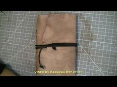 DIY: High capacity refillable Travel Journal (see description) - YouTube