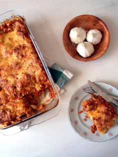 Light Yogurt Lasagna