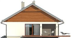 Projekt domu Endo 113,29 m2 - koszt budowy - EXTRADOM Home Fashion, Shed, Outdoor Structures, Cabin, House Styles, Home Decor, House, Decoration Home, Room Decor