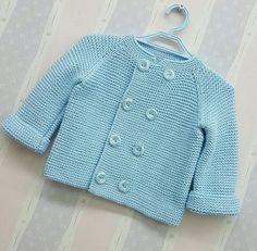 Baby Cardigan Knitting Pattern Free, Baby Boy Knitting Patterns, Baby Knitting, Baby Sweaters, Sweaters For Women, Smocked Baby Dresses, Kids Fashion Boy, Kids Outfits, Crochet