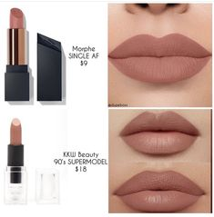 Lipstick dupes 388294799124765042 - Source by azertyyuiopn Drugstore Makeup Dupes, Lipstick Dupes, Makeup Cosmetics, Lipsticks, Best Matte Lipstick, Elf Dupes, Eyeshadow Dupes, Brown Lipstick, Lipstick Shades